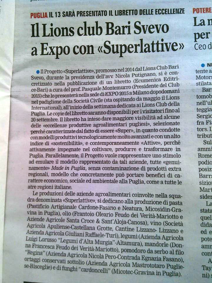 Le Superlattive Expo 2015